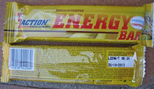 3Action Sports Productos - Energy Bar