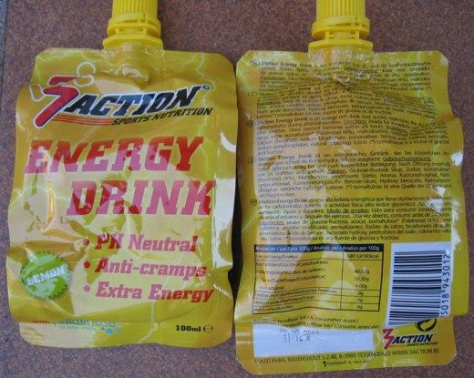 3Action Sports Productos - Energy Drink