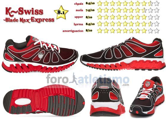 Rating K-Swiss Blade Max Express