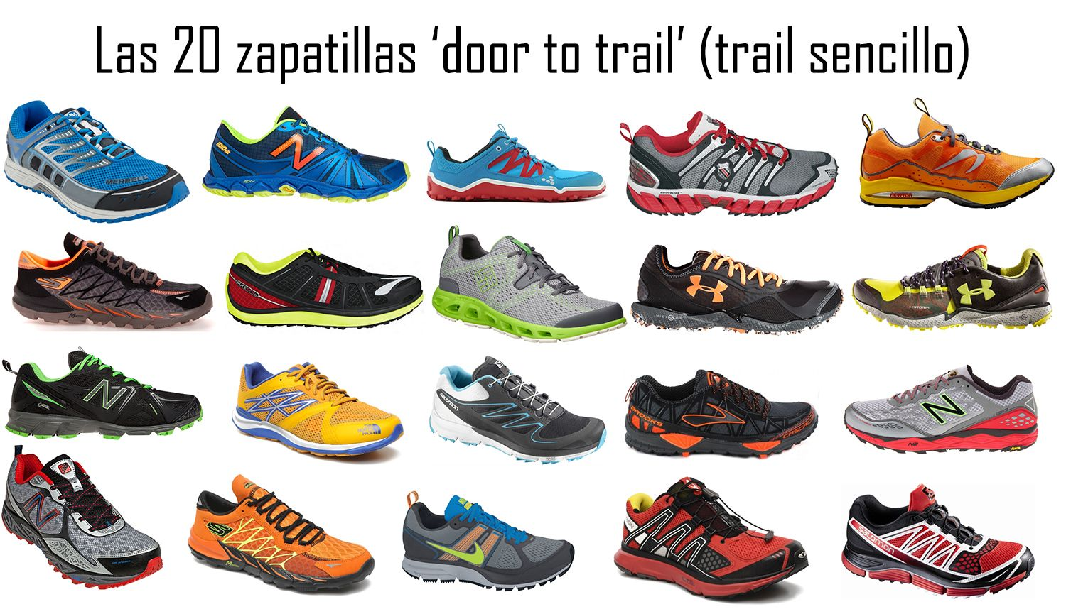 La guía definitiva de las zapatillas 'door to trail'