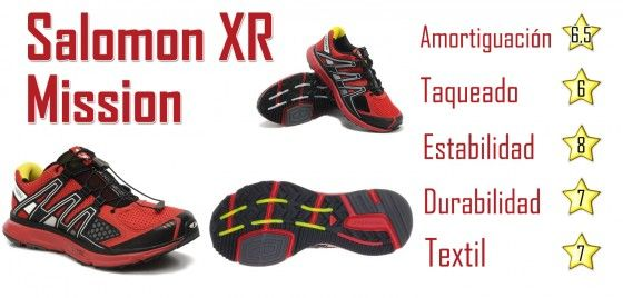 Salomon XR Mission prueba