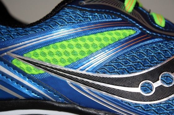 Saucony Powergrid Guide 7 - Detalle upper