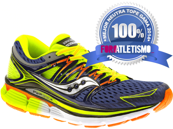Saucony Triumph ISO - Mejor neutra tope gama 2014