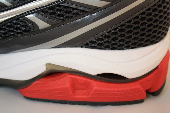 Mizuno Wave Enigma 5 - Talon interior