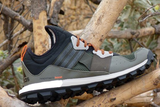 Adidas Response Trail Boost - Perfil exterior