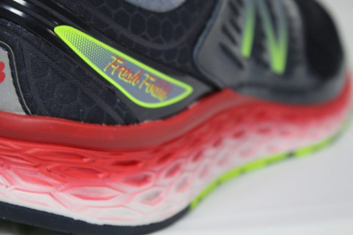 New Balance 1080 v6 Fresh Foam - Perfil talon