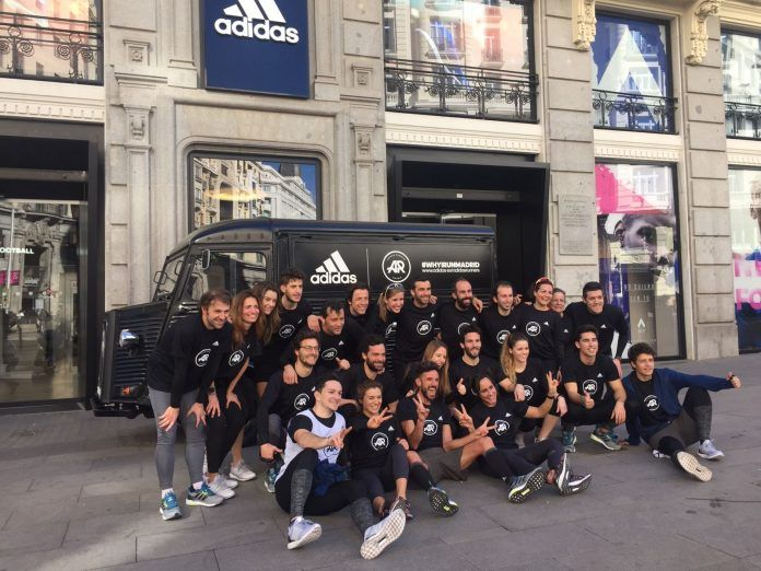 adidas runners madrid