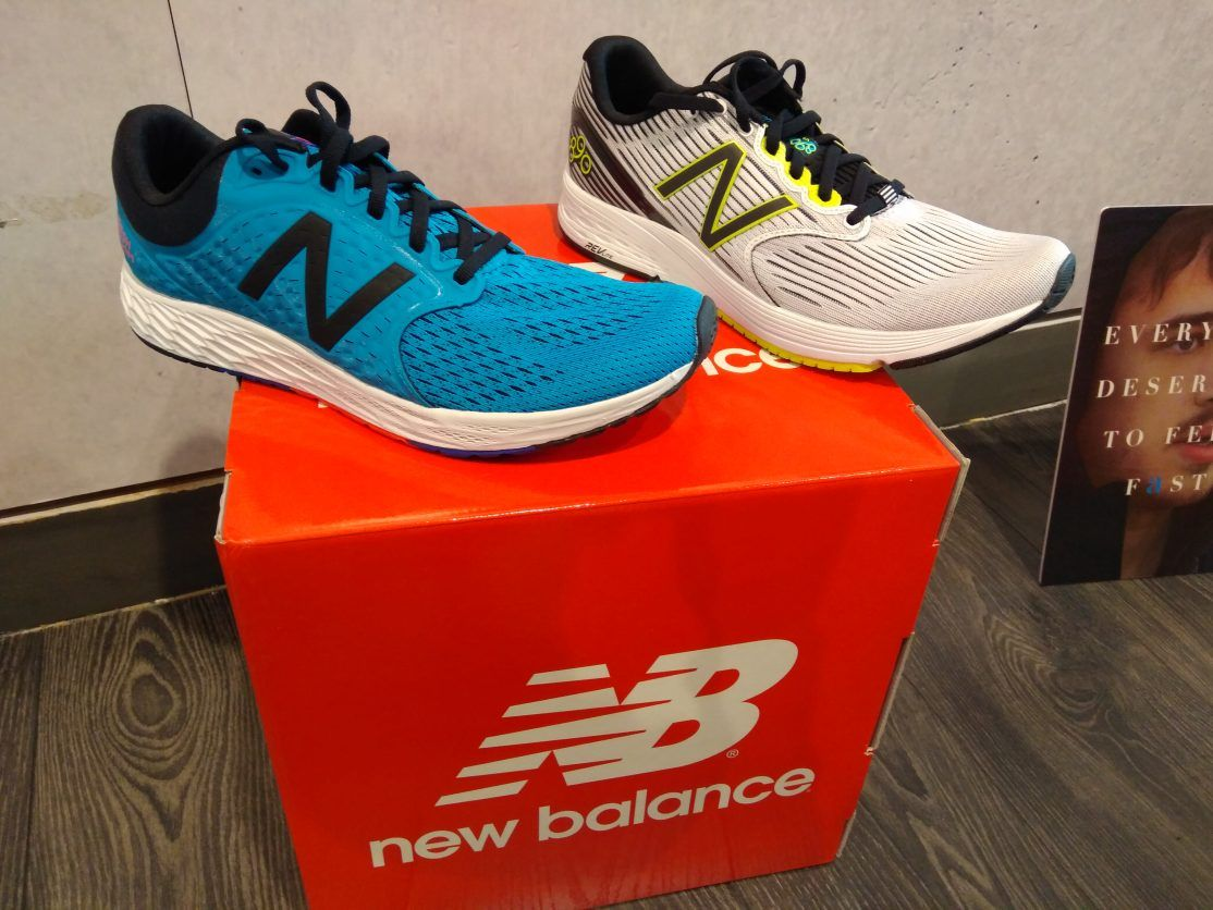 nb vazee pace versus adidas ultra boost
