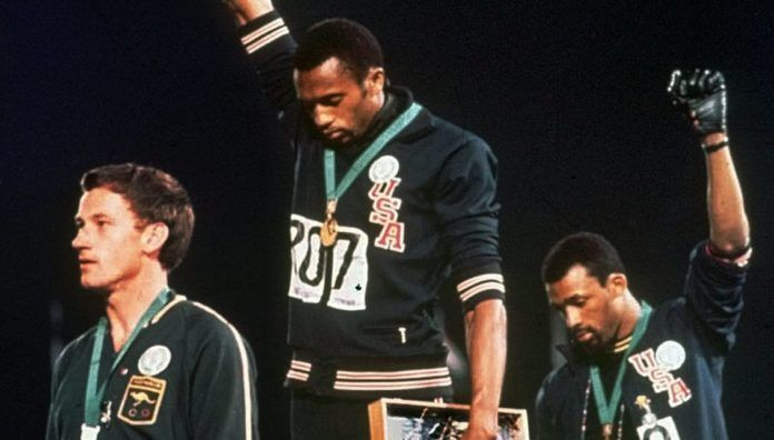 Tommie Smith Mexico 68